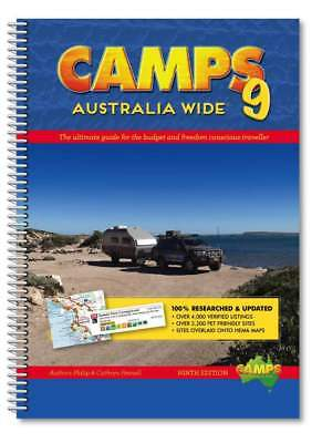 Camps Australia Wide 9 Spiral Bound Book : A4 Size