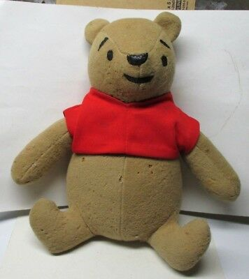 "Vintage Winnie The Pooh 16"" Plush Toy Stuffed Animal"