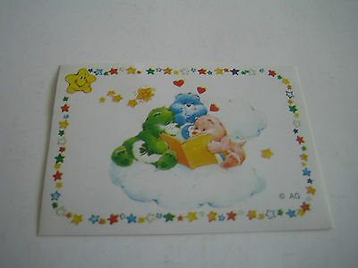 Vintage 1985 Panini Care Bear Sticker #167**american Greetings Corp**