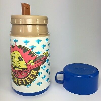 Rocketeer Thermos Aladdin Disney 8 oz Vintage