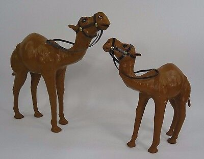 Vintage Leather Wrapped Camel Dromedary