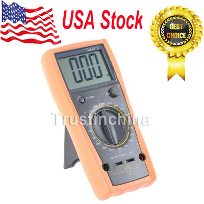 DM4070 3 1/2 Digital LCR Meter up to 20H 2000uF 20Mohm US