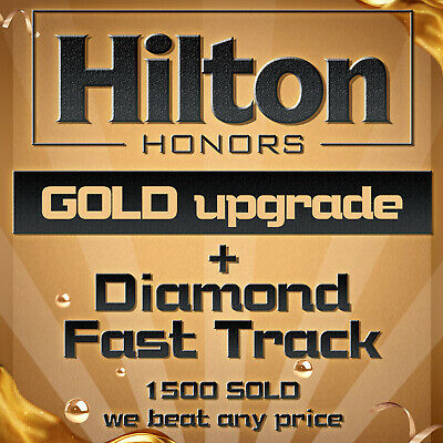 Hilton Diamond Member Status Upgrade 90 Days Trial , Can be extended to Mar 2021