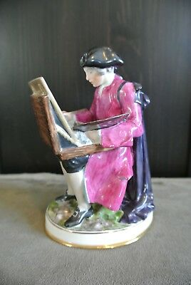 Vintage Bing and Grondahl (B&G) Overglaze Figurine 8040 'Artist at Easel'