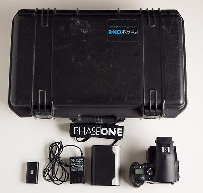 Phase One 645AF and P25+ Digital back with 2 batteries, charger, and case