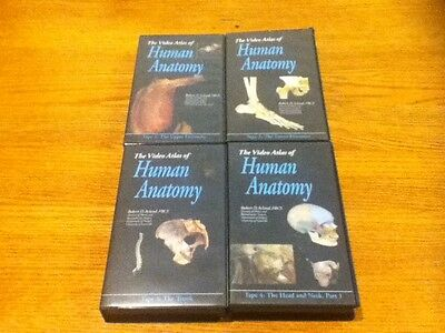 Aclands Video Atlas Of Human Anatomy Vhs Tapes 1 Thru 6 New