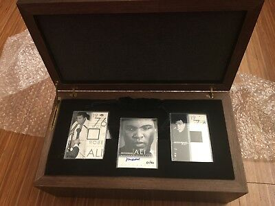 2000 Upper Deck Muhammad Ali Master Collection Autograph Set RARE 148/250