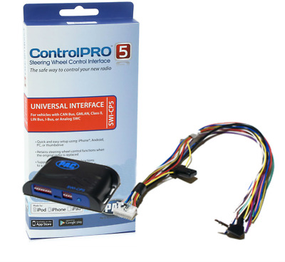 PAC ControlPRO swicp5 Android & iOS Programable Steering Wheel Control Interface
