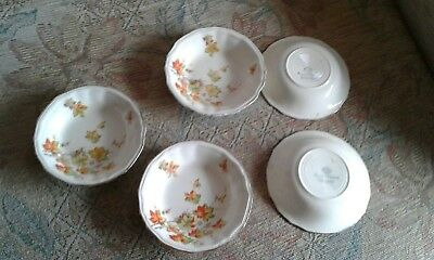 Alfred Meakin pottery. 5 Antique bowls.