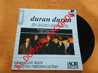 """Duran Duran """"union Of The Snake"""" Mexico Promotional Vinyl Mexican Radio Station"""