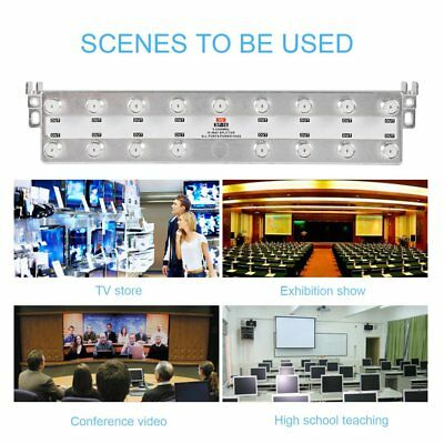 16 Way Digital Tv Aerial Sat Freeview F Plug Coaxial Signal Tv Cable Splitter Sl