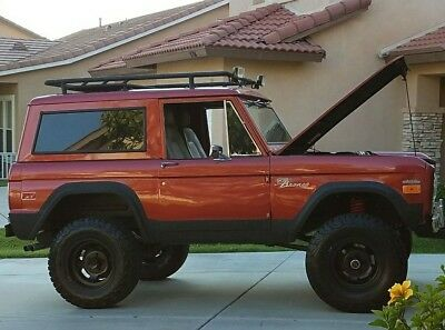 1970 Ford Bronco Sport 1970 Classic Ford  Bronco