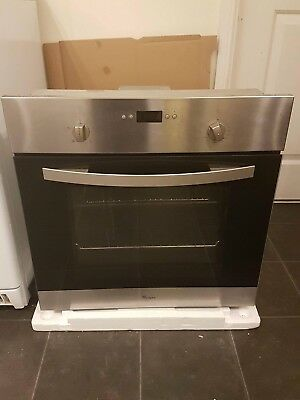 Whirlpool AKP262/IX Built In Fan Assisted Electric Single Oven