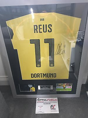 Marco Reus Signed Framed Shirt With Coa