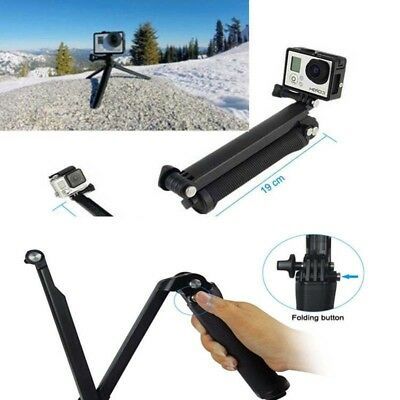 3Way Adjustable Bracket Hand Grip Arm Tripod Camera Mount For GoPro Hero4/3+/3 U