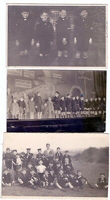 Original 1946/7 Cub Scout and Sea Scout Photos