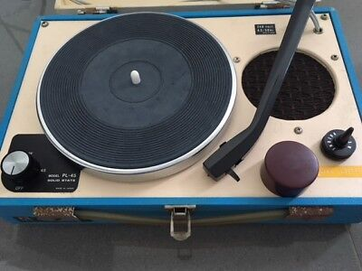 Vintage Turntable, Record Player - AMEREX PL-45