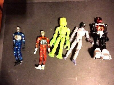 Lot of 5 VINTAGE Toys / Figures - Takara , Mego Corp. , Palisades, AGE - action