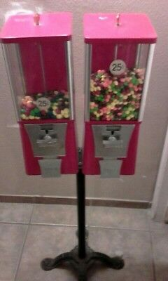 two eagle 25cent candy machines