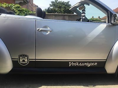 VW volkswagen Beetle wolfsburg Side Stripes Graphics Decals Stickers any colour