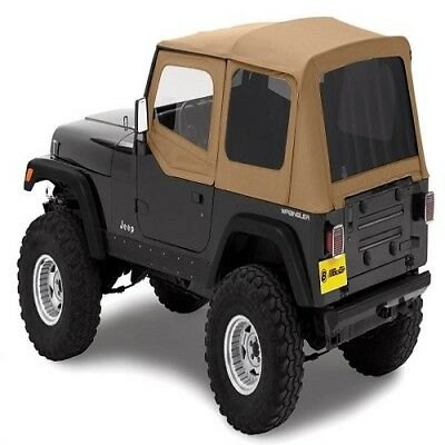 Bestop Replace-A-Top Spice Soft Top for 88-95 Wrangler w/ Tinted Windows