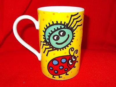 "Dunoon ""creepy Crawlies'"" Jane Brookshaw Design Stoneware Mug"