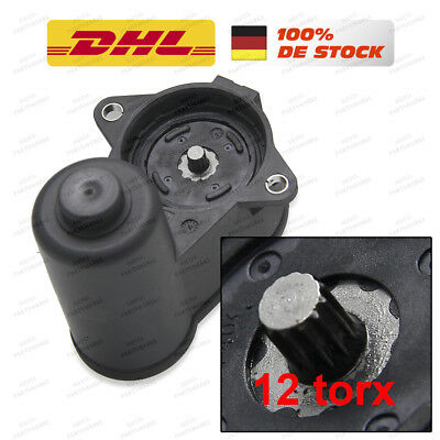 Rear Brake Caliper Electric Handbrake Servo Motor 12 Tooth Vw Passat 3C0998281