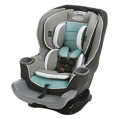 NEW Graco Extend2Fit Convertible Car Seat In Spire