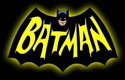 Batman Logo Adam West '60's TV Series Sticker Or Magnet