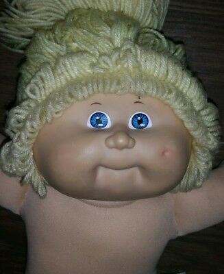 1982 Authentic Cabbage Patch Kids blonde  hair blue eyes