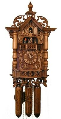 Adolf Herr Cuckoo Clock  - The 1870's Railway House Clock AH 500/1 8TMT NEW