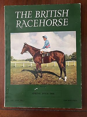 The British Racehorse Spring Issue 1966