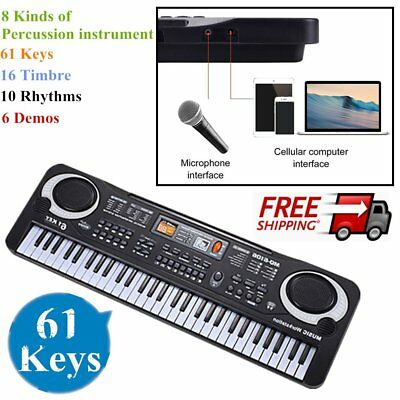 2017 61 Keys Children Musical Instrument Electronic Piano Keyboard 16 Timbre GN