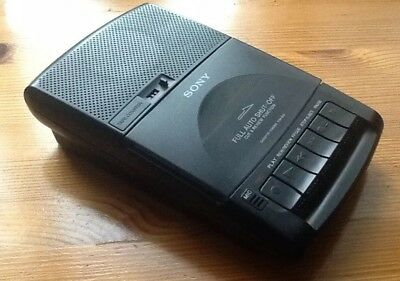 Sony Tcm 939 cassette recorder including power supply