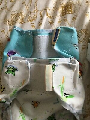 Motherease Rikki Nappy Wraps Extra SM - Excellent Used Condition