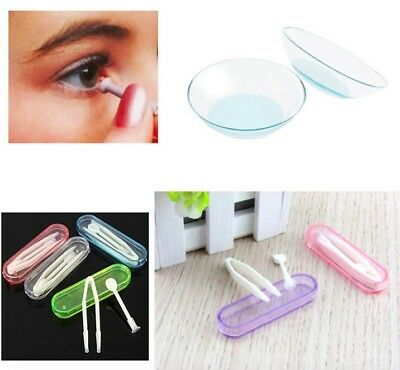 Contact Lens Applicator Kit Inserter + Remover - Hygienic and Fast - 3 piece Set