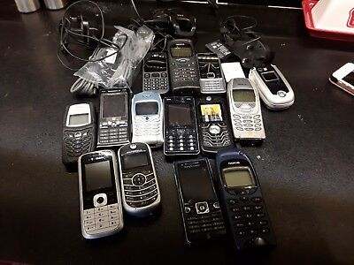 Job lot of mobile phones