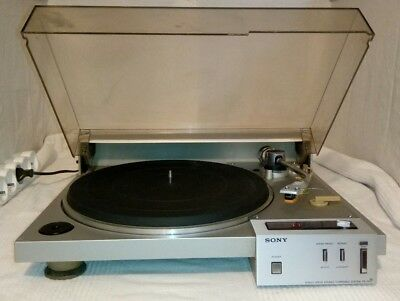 Sony PS-10F direct drive turntable Falcon series