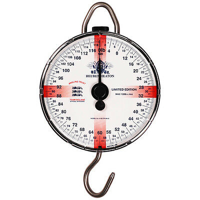 NEW Reuben Heaton Standard England Limited Edition Scales 120lb - RH4120 TP100LE
