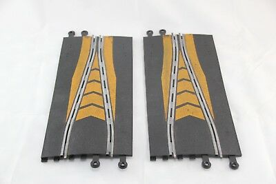 Scalextric Classic Track - Pt74 - Short Chicane - X2 - Orange Markings