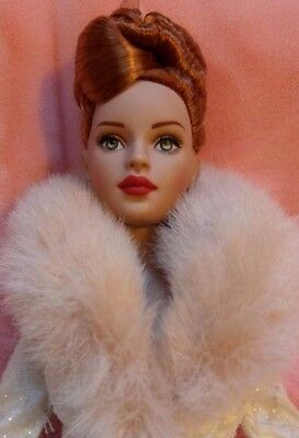 "16 "" Robert Tonner Fashion Doll Tiny Kitty Collier redhead with Barbie Outfitt"