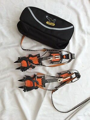 Petzl Charlet Crampons TAA015 inc Salewa Soft Bag