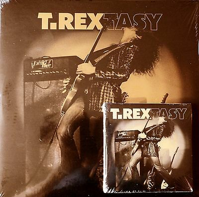 Marc Bolan / T.rex : 't.rextasy' - Live Double Lp & Cd Set - Deluxe  Packaging
