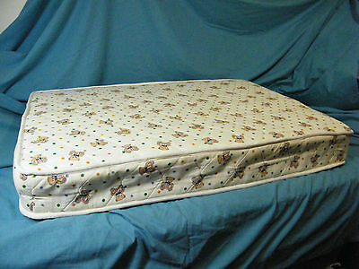 BABY SPRING MATTRESS infant toddler 102cm x 70cm x 13cm USED Excellent Cond - 2.