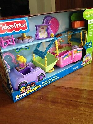 Fisher Price Little People Sara Lynn & Her Camping Adventure (discontinued)