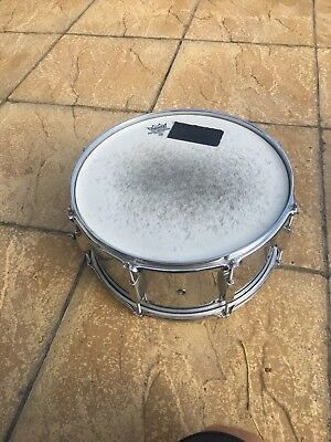 Pearl Steel Shell Snare Drum 14""