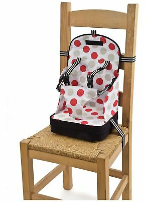 Baby Polar Gear Booster Seat - Black with Large Spot Print
