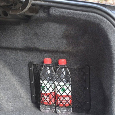 Universal Car Trunk Fire Extinguisher Bags Storage Net Luggage Network Pocket