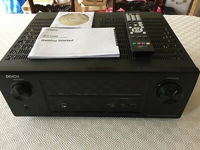 Denon AVR-X3000 7 Channel 105 Watt Receiver