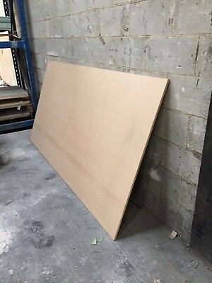 1x Full Sheet 15mm MDF 8x4foot/2440x1220mm Cut To Your Size